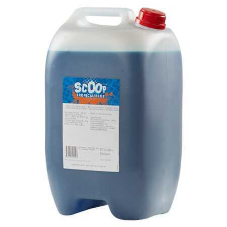 Scoop Tropical Blue saft 10 l