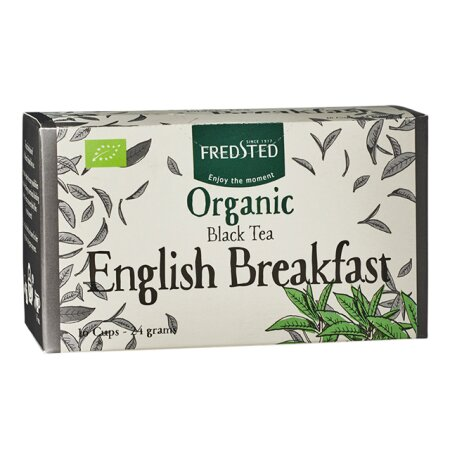 Fredsted Øko English Breakfast 16 breve